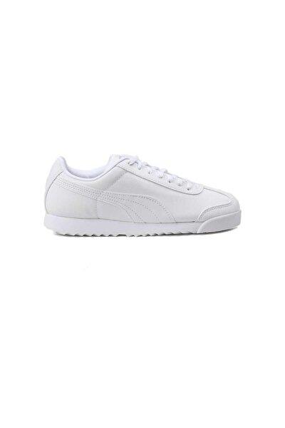 Puma Kadın Roma Basic Beyaz Günlük Spor Ayakkabı 354259141