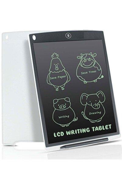 DoğubeyStore Writing Tablet Lcd 8.5 Inç Dijital Kalemli Çizim Yazı Tahtası Grafik Not Yazma Eğitim Tableti