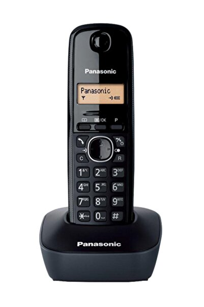 PANASONIC KX-TG1611 Dect Telefon Siyah