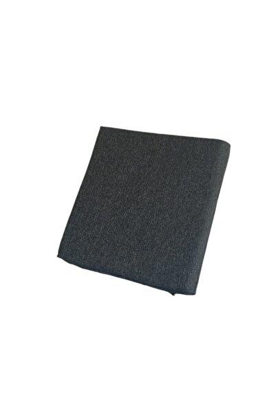 Under X Siyah Keten Kumaş Koltuk Ve Sandalye Minderi 40x40x5 Cm