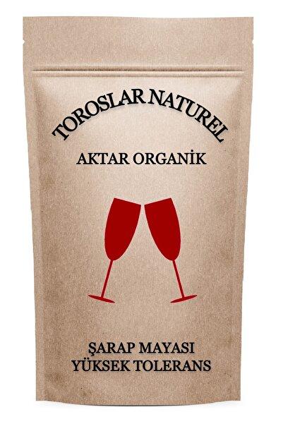 Toroslar Naturel Aktar Organik Şarap Mayası Ithal Yüksek Tolerans Kırmızı Ve Beyaz Yapımına Uygun 20 Gr
