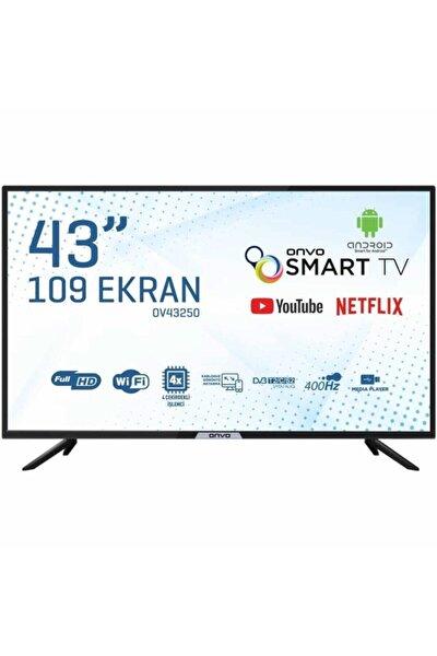 ONVO Ov43250 43'' 109 Ekran Uydu Alıcılı Full Hd Smart Led Tv