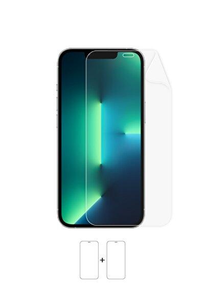 Wrapsol Apple Iphone 13 Pro Uyumlu Ekran Koruyucu-darbe Emici Poliüretan Film Amerika Üretimi