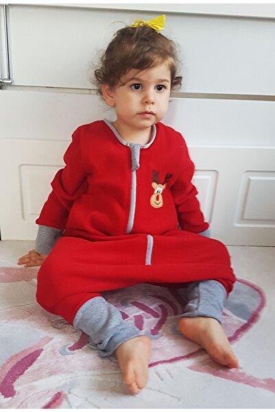 yorni Bebek Çocuk Nakışlı Uzun Kollu Oeko-tex Mikro Polar Uyku Tulumu Tog 2