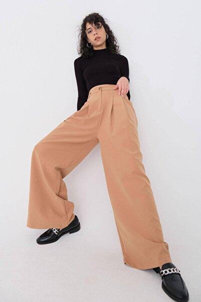 Addax Bol Paça Kumaş Pantolon Pn70681