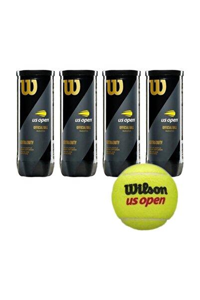 Wilson Us Open 4 Kutu Tenis Topu Vakum Ambalajda