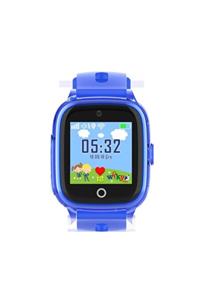 Wiky Watch Akıllı Çocuk Saati 3 Plus Mavi Dokunmatik Akıllı Çocuk Saati