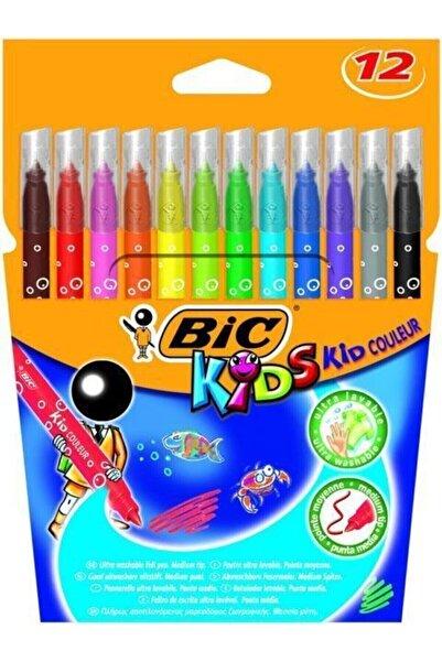 Bic Kids Couleur Keçeli Boya Kalemi 12`li Kutu