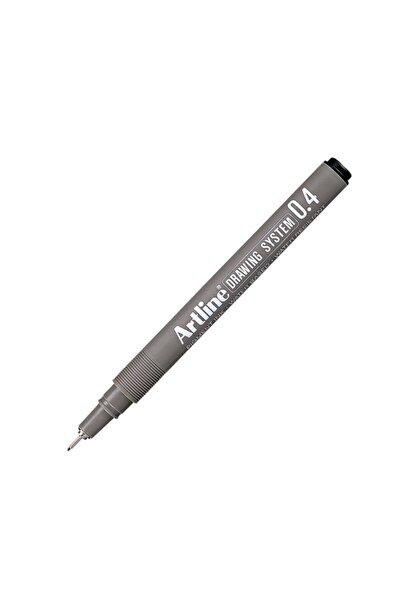 artline Çizim Kalemi Siyah 04 Uçlu
