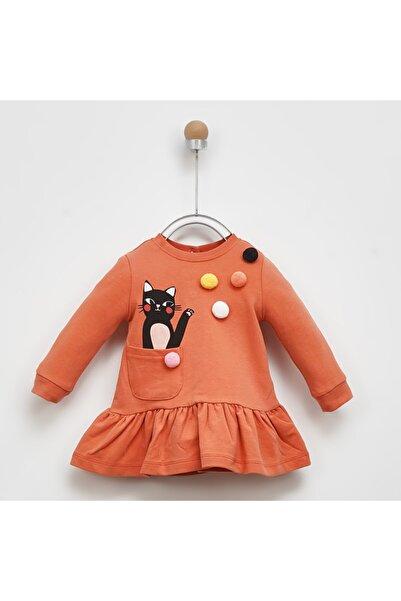 Panço Kız Bebek Örme Elbise 2021gb26014