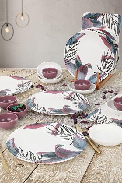 Keramika Vio Kahvaltı Takımı 20 Parça 6 Kişilik