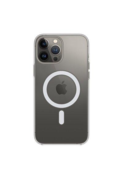 Mislina Iphone 13 Pro Max Magsafe Kablosuz Şarj Uyumlu Köşe Korumalı Kılıf
