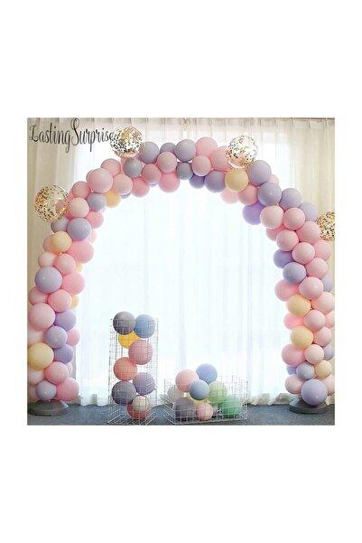 Baloevi Makaron Balonlu Zincir Balon Seti 5 Mt Zincir 125 Balon Karışık Kb1248