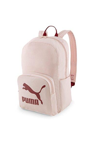 Puma Originals Urban Unisex Pembe Günlük Stil Sırt Çantası 07848002