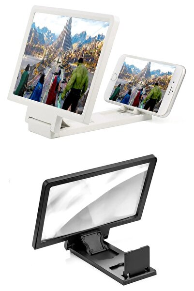 Buffer Universal Telefon Tablet Ekran Büyütücü Standlı Projektör Aleti