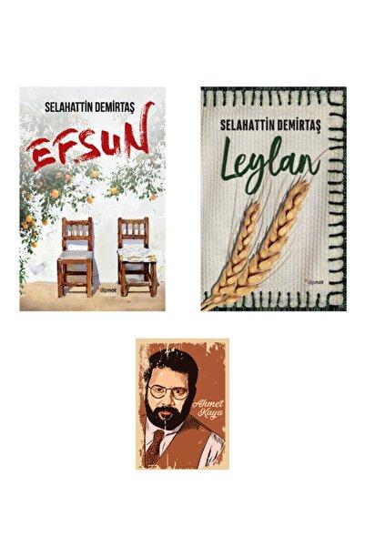 Dipnot Yayınları Selahattin Demirtaş Efsun - Leylan Roman Seti