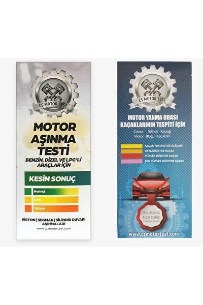 CS Motor Test Cs Motor Aşınma Ve Conta Kaçak Testi- Avantajlı 2'li Paket