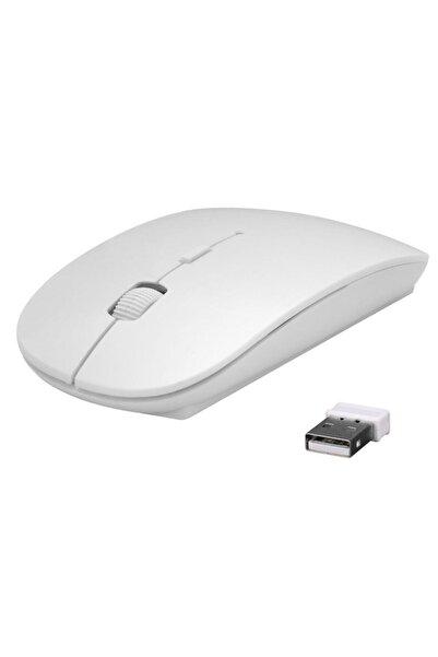 Everest SM-781 Beyaz Optik Nano Receive Kablosuz Mouse