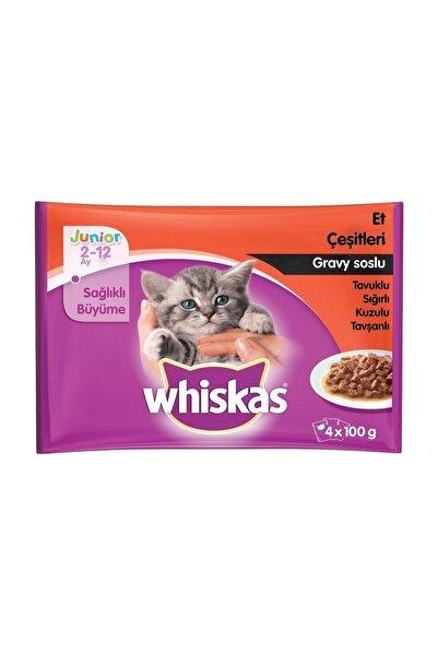 Whiskas Whiskas Pouch Junior 4'Lü Paket