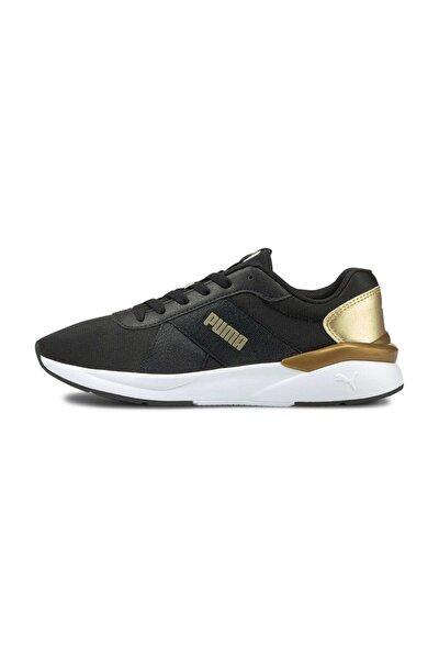 Puma Rose Metallic Pop 381080-01 Siyah Kadın Sor Ayakkabısı