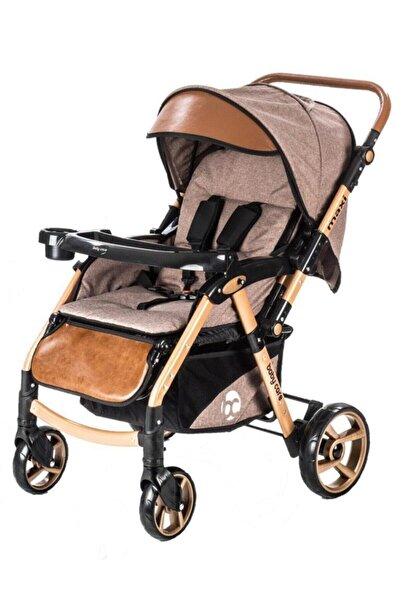 Baby Care Bc-55 Maxi Pro Bebek Arabası Kahverengi