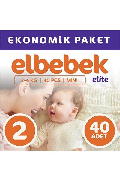 ELBEBEK ELİTE Bebek Bezi 2 Numara Mini 40 Adet