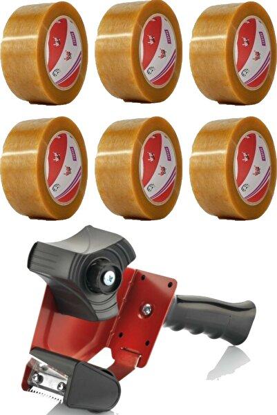 Vege Leopar Koli Bandı 48 X 100 Ve Bandcutter Koli Bandı Kesme Makinesi Seti