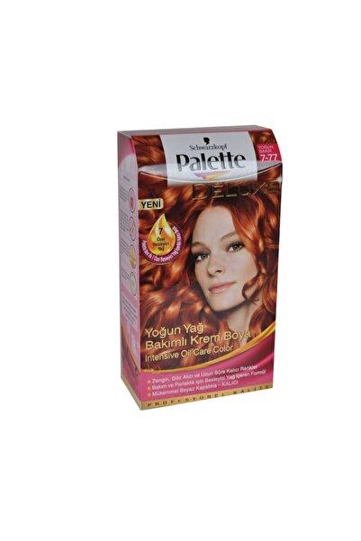 Palette Saç Boyası 7-77 Yoğun Parlak Bakır