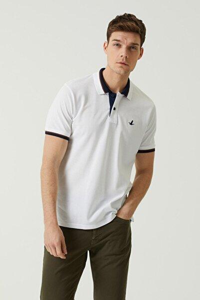 Beymen Club Comfort Fit Beyaz Polo Yaka T-shirt