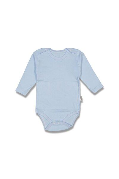 Nayinom Uzun Kollu Düz Çıtçıtlı Bebek Body