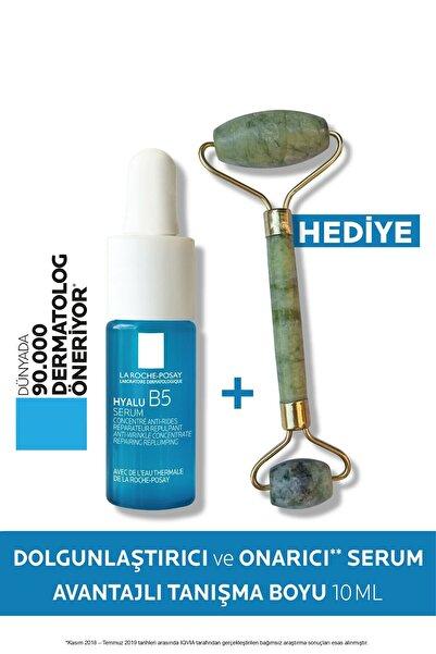 La Roche Posay Hyalu B5 Cilt Serumu Dolgunlaştırıcı & Onarıcı 10 ml Tanışma Boyu + Roller Yüz Masaj Aleti