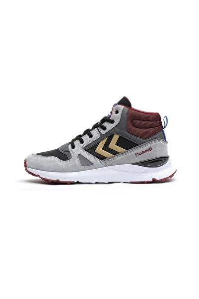 HUMMEL Unisex Gri Bağcıklı Sneaker