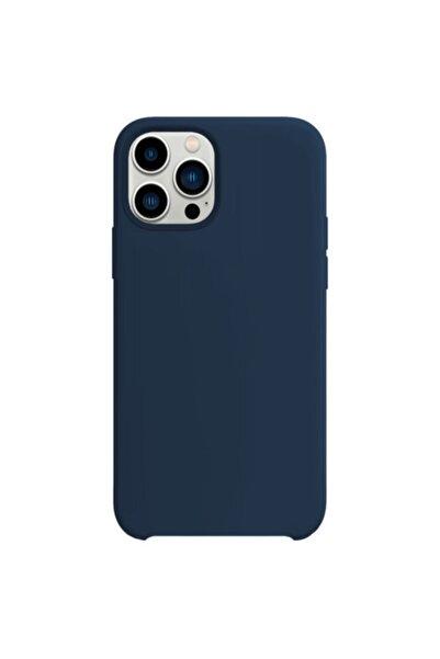 Buff Iphone 13 Pro Rubber Fit Kilif Lacivert