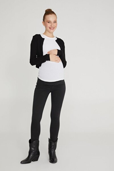 VAVIEN Hamile Süper Strech Tensel Skinny Fit Pantolon 1080