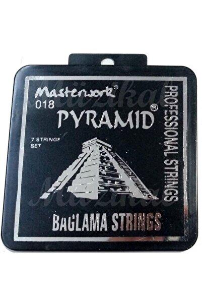 VipStar Masterwork Profesyonel Pyramid Saz Teli 0.18 Kısa Sap Bağlama Teli