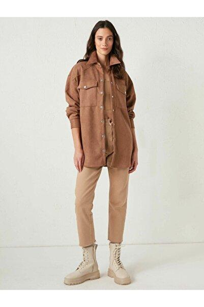 Kübra Tekstil Kadın Süet Ceket