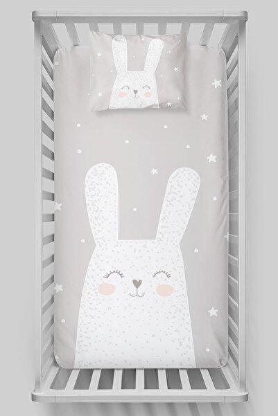 Tuğba Kuğu Organik Pamuk Saten Lastikli Çarşaf Seti (60x120) - Pure Baby Serisi