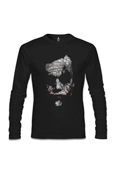 Lord T-Shirt Erkek Siyah Joker - So Evil Sweatshirt