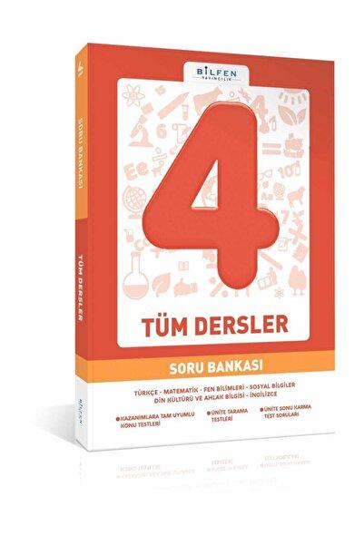 Bilfen Yayıncılık 4.Sınıf Tüm Dersler Soru Bankası Bilfen Yayınları