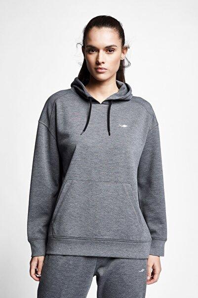 Lescon Koyu Grimelanj Kadın Kapüşonlu Sweatshirt 21s-2211-21n