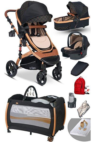 Baby Home 9 In 1 Set 946 Single-to Travel Sistem Bebek Arabası Ve 600 Oyun Parkı Park Yatak Beşik