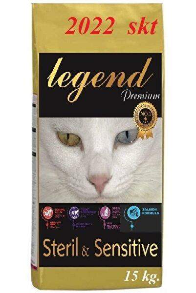 Legend Gold Sterılısed Düşük Tahıllı Somonlu Kısırlaştırılmış Kedi Maması 15 Kg Somon Balıklı