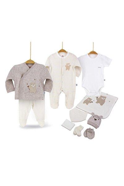 Bimini Joyful Teddy Erkek Bebek 10'lu Hastane Çıkış Seti 63175
