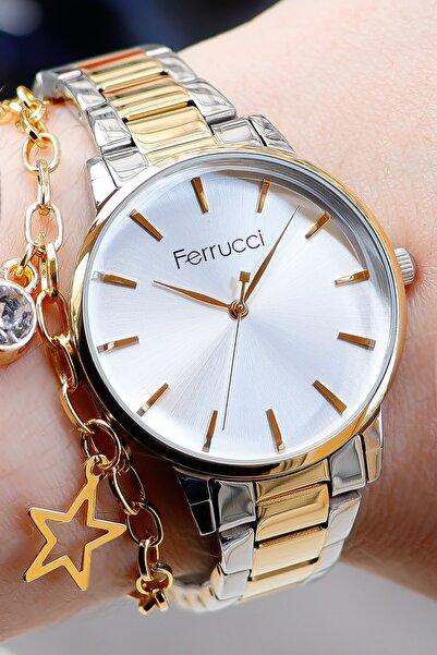 Ferrucci Kadın Kol Saati Bileklik Hediyesiyle 176089