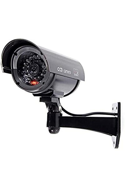 TechnoSmart Gece Görüşlü Pilli ve Ledli Caydırıcı Sahte Güvenlik Kamerası