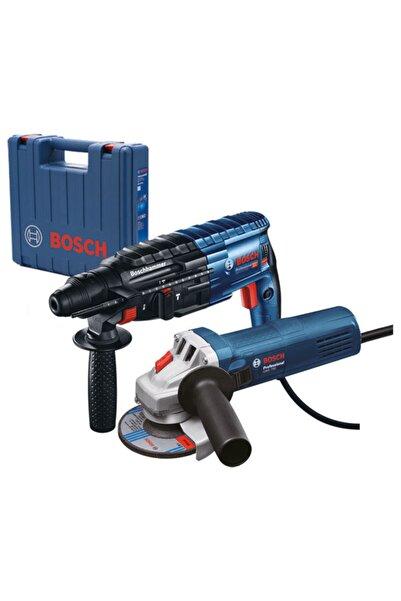Bosch Professional Gbh 240 Kırıcı-delici + Gws 750 Taşalama Ikisi Bir Arada