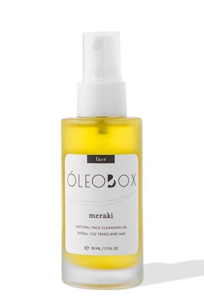 Oleobox Meraki Yüz Temizleme Yağı Kuşburnu Ve Papatya Özlü - 50 ml