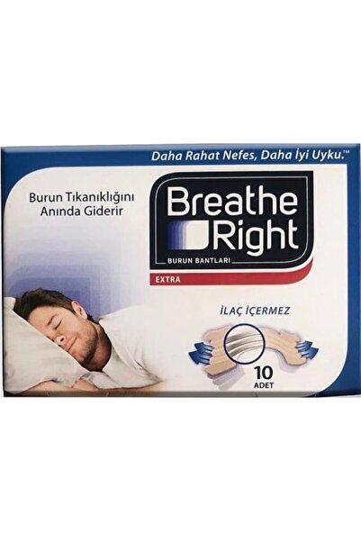 Breathe Right Extra Burun Bantları Yeni 10'lu Ambalajında X 6 Kutu (60 Adet)