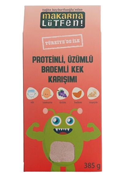 Makarna Lütfen Proteinli, Üzümlü & Bademli Kek Karışımı