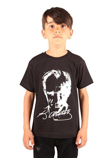 Minies Atatürk Baskılı Çocuk Tişört